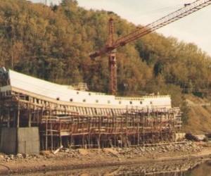 Le chantier du Pélican de La Malbaie